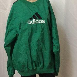 Adidas pull over shirt